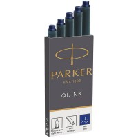 Синие картриджи Parker (Паркер) Quink Cartridges Blue 5шт