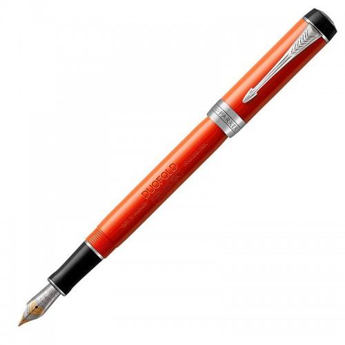 Перьевая ручка Parker (Паркер) Duofold International Classic Big Red Vintage CT F в Санкт-Петербурге