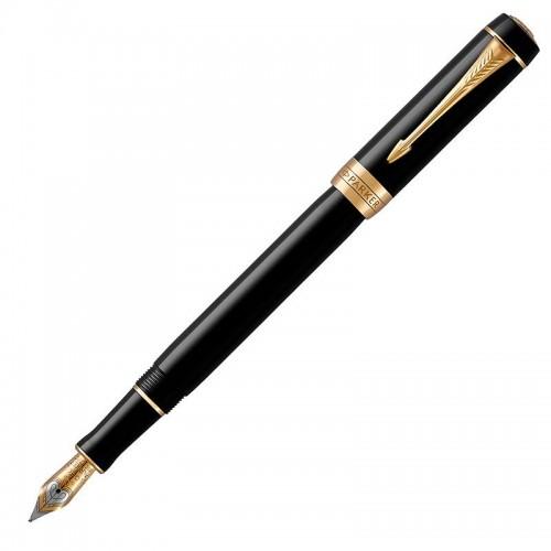 Перьевая ручка Parker (Паркер) Duofold Classic International Black GT F в Санкт-Петербурге