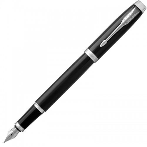 Перьевая ручка Parker (Паркер) IM Core Black Chrome CT F в Санкт-Петербурге