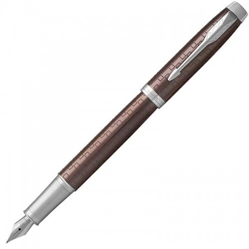 Перьевая ручка Parker (Паркер) IM Premium Brown CT F в Санкт-Петербурге