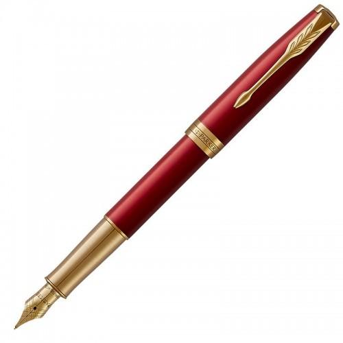 Перьевая ручка Parker (Паркер) Sonnet Core Red Lacquer GT F 18k в Санкт-Петербурге
