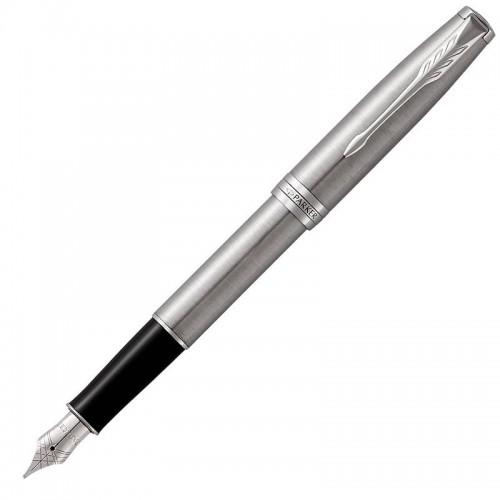Перьевая ручка Parker (Паркер) Sonnet Core Stainless Steel CT F в Санкт-Петербурге