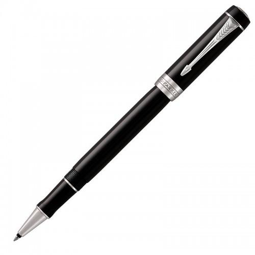 Ручка-роллер Parker (Паркер) Duofold Classic Black CT в Санкт-Петербурге