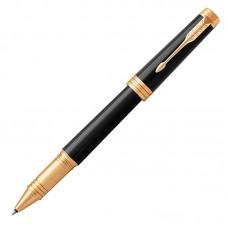 Ручка-роллер Parker (Паркер) Premier Black Lacquer GT