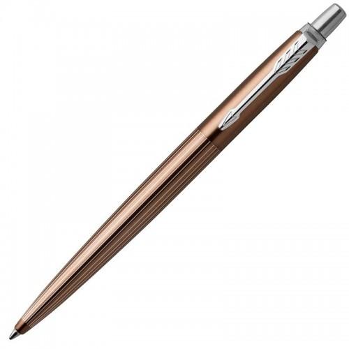 Шариковая ручка Parker (Паркер) Jotter Premium Carlisle Brown Pinstripe CT в Санкт-Петербурге