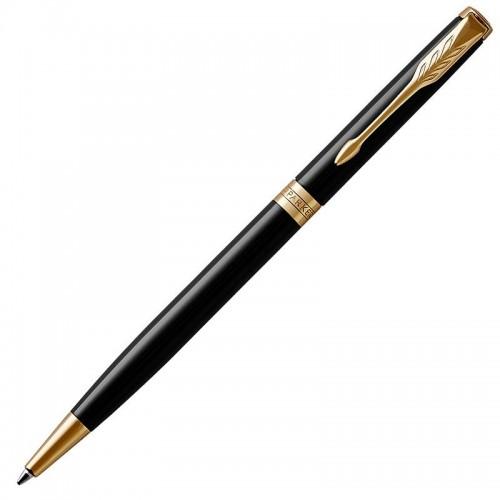 Шариковая ручка Parker (Паркер) Sonnet Core Slim Black Lacquer GT в Санкт-Петербурге