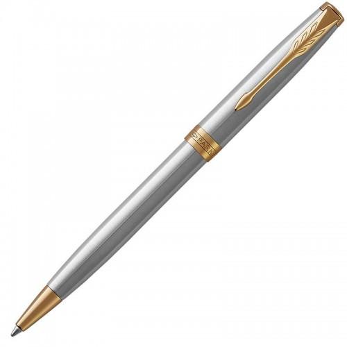 Шариковая ручка Parker (Паркер) Sonnet Core Stainless Steel GT в Санкт-Петербурге