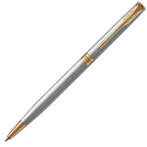 Шариковая ручка Parker (Паркер) Sonnet Core Slim Stainless Steel GT в Санкт-Петербурге