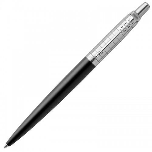 Шариковая ручка Parker (Паркер) Jotter Premium Bond Street Black Grid CT в Санкт-Петербурге