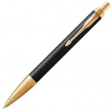 Шариковая ручка Parker (Паркер) IM Premium Black/Gold GT