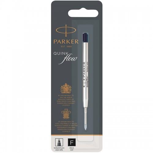 Чёрный шариковый стержень Parker Ball Pen Refill QuinkFlow Premium F Black в Санкт-Петербурге