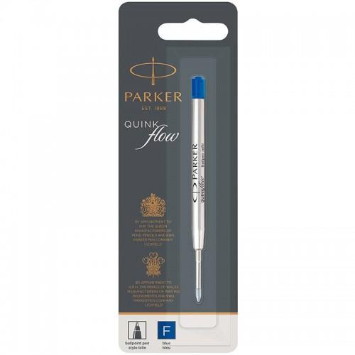 Синий шариковый стержень Parker (Паркер) Ball Pen Refill QuinkFlow Premium F Blue в Санкт-Петербурге